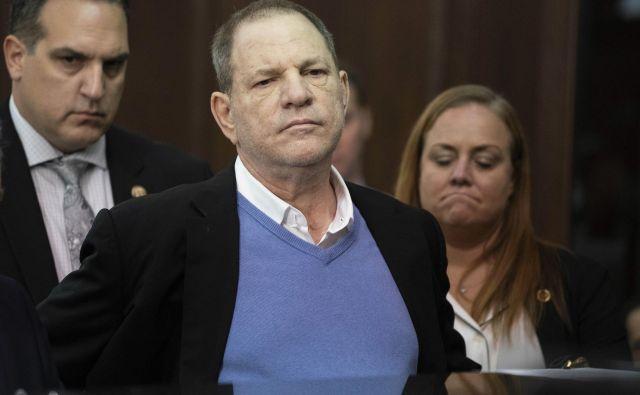 Harvey Weinstein je zavrnil možnost pričanja pred veliko poroto. FOTO: AP