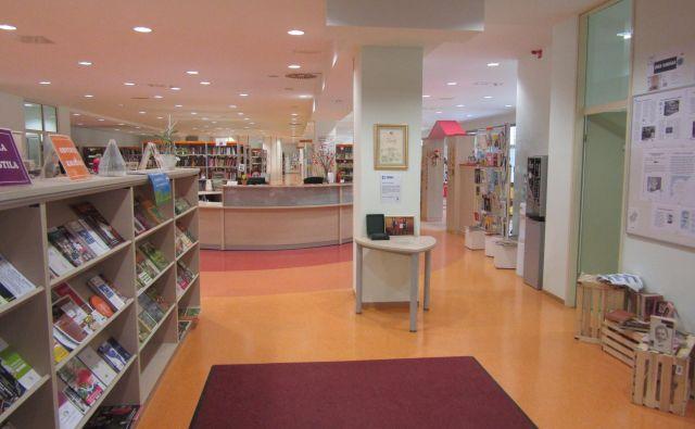 Kaj vse se dogaja za vrati knjižnice, bodo inšpekcijske službe, ki si kljuke kar podajajo, še ugotavljale. FOTO: Špela Kuralt/Delo