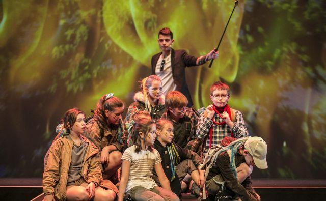 Opera <em>Hobbit </em>Glasbene matice Ljubljana, velik in drag projekt. Foto Tina Ramujkič