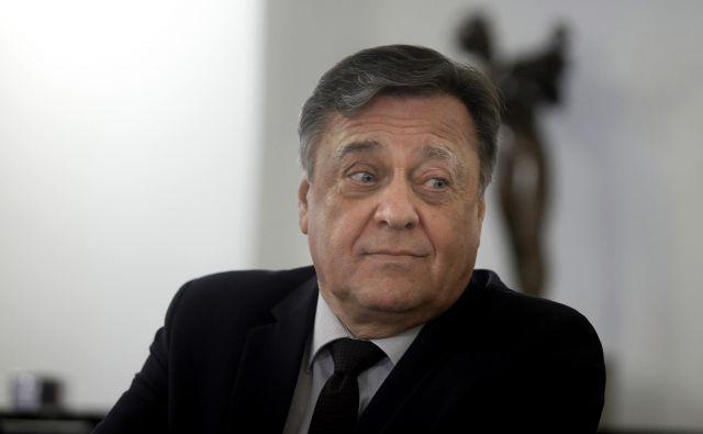 Ljubljanski župan Zoran Janković je dejal, da so kršili načelo, po katerem se o isti stvari ne sme soditi dvakrat. FOTO: Blaž Samec