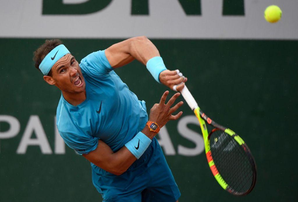 FOTO:Roland Garros: Nadal oddal le štiri igre (VIDEO)