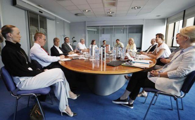 Komisija izbora Podjetniške zvezde. Foto Leon Vidic
