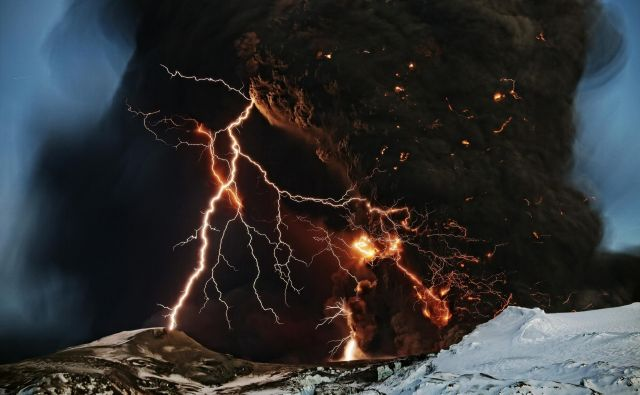 Vulkan, Eyjafjallajokul. FOTO Lucas Jackson Reuters
