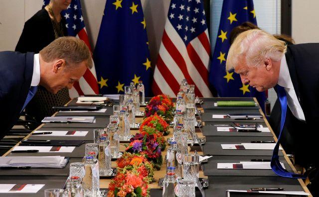 V ZDA se zelo dobro zavedajo, da EU bolj potrebuje zavezništvo, kot oni. FOTO: Reuters