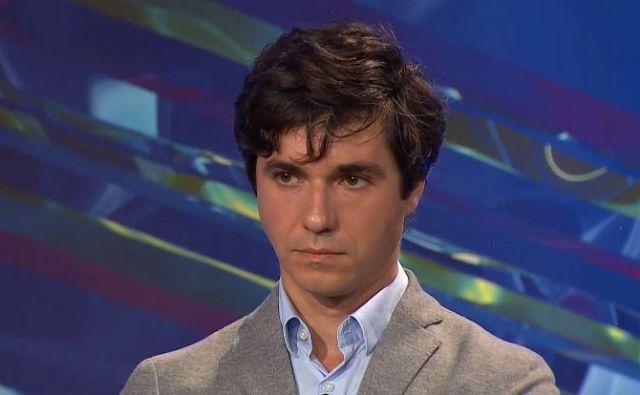 Luka Mesec, predsednik stranke Levica Foto Pop TV