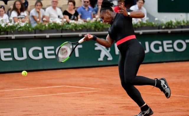 Serena Willams je med dvojicami morala priznati premoč Andreji Klepač. Foto Thomas Samson Afp