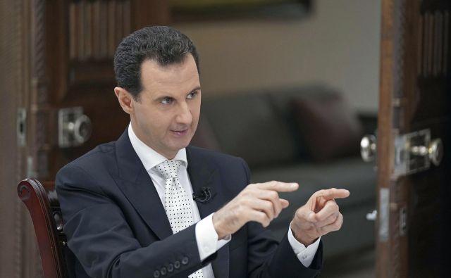 Bašar al Asad: Ves svet pozdravlja omembe vredne dosežke na Korejskem polotoku. FOTO: AP