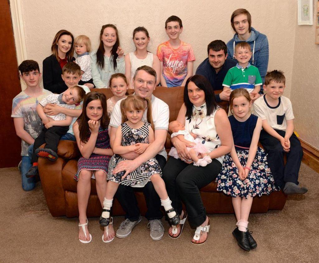 V najštevilčnejši britanski družini pričakujejo 21. otroka