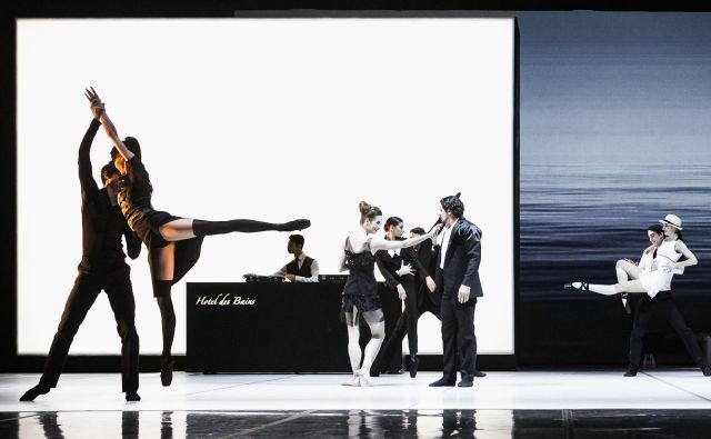 Balet Smrt v Benetkah je koprodukcija med SNG Maribor in Hrvaškim narodnim gledališčem Zagreb. FOTO: Arhiv HNK Zagreb