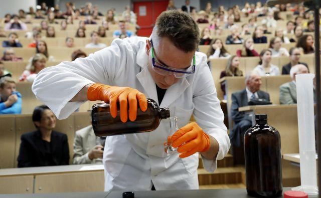Na Kemijskem inštitutu so pripravili pester program.