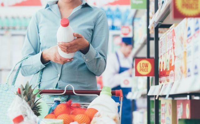 Kvaliteta živil v Sloveniji je slabša kot v zahodni Evropi. Foto Shutterstock