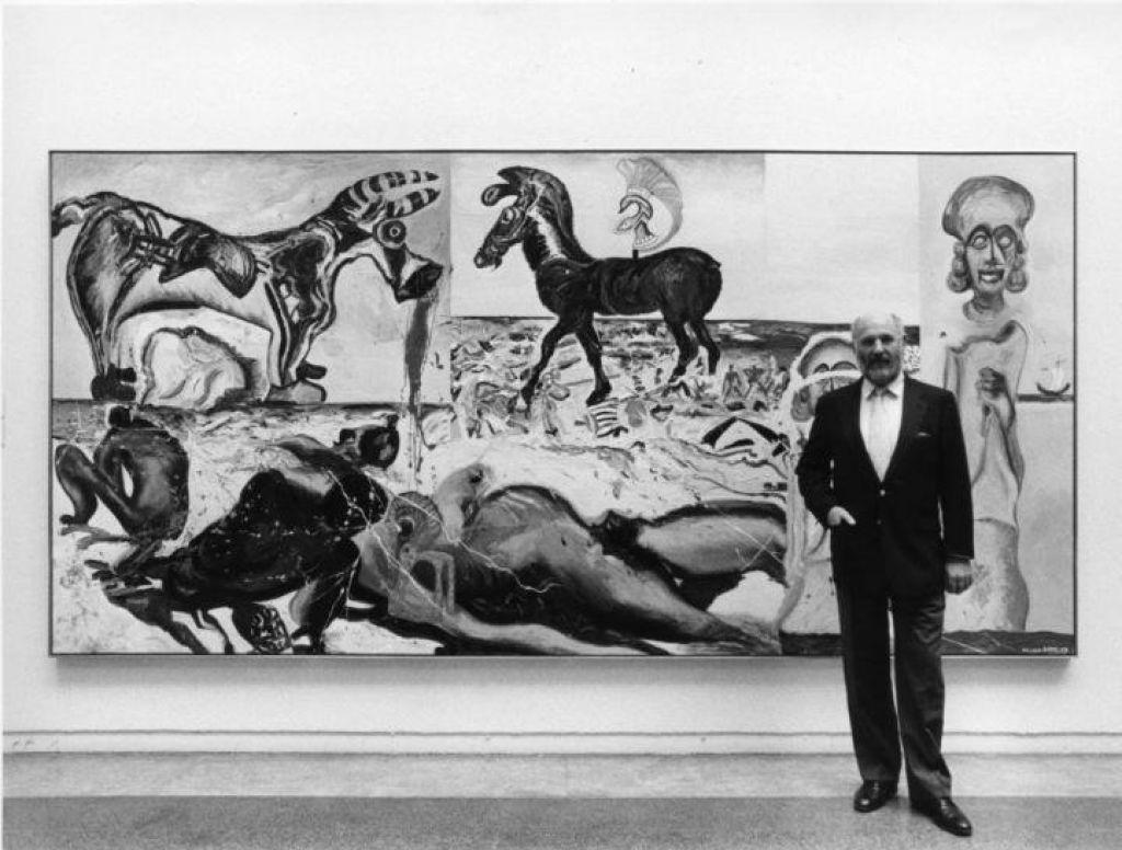 Umrl je prvi Turnerjev nagrajenec, slikar Malcolm Morley