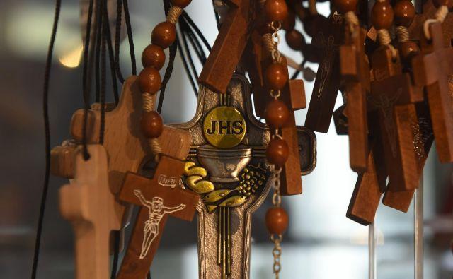 Bavarski premier Markus Söder meni, da je »križ temeljni simbolj bavarske identitete in načina življenja«. FOTO: Christof Stache/AFP