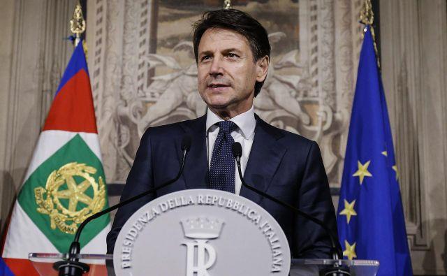 V sredo bo o zaupnici novi vladi po napovedih glasoval še spodnji dom parlamenta, poslanska zbornica.<br /> FOTO: Fabio Frustaci/AP