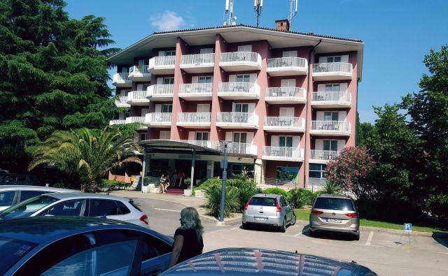 Naselje San Simon premore 7 hektarjev zemljišč in 406 hotelskih sob. Foto Boris Šuligoj