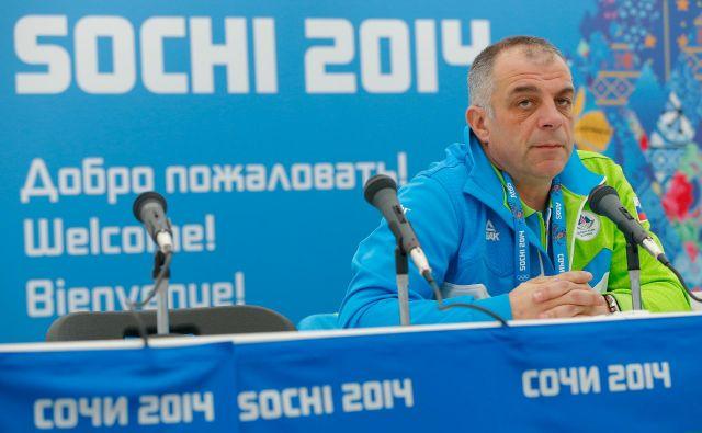Matjaž Kopitar je ponosen na prvi olimpijski nastop slovenske hokejske reprezentance v Sočiju.<br /> FOTO: Matej Družnik