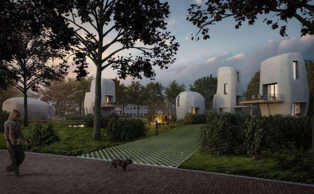 Hiše bodo energijsko učinkovite in trajnostne.