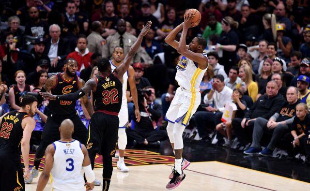 Kevin Durant je spomnil na lanske predstave iz finala, ko je postal MVP.