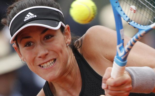 Garbiñe Muguruza se je sprehodila do polfinala Roland Garrosa.<br /> Foto AP