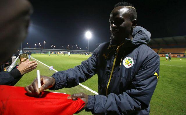 Liverpoolov napadalec Sadio Mane bo v Rusiji prvi zvezdnik ambiciozne ekipe Senegala.