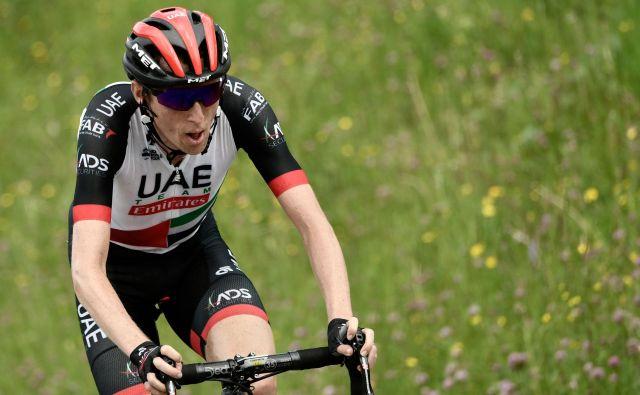 Daniel Martin je bil včeraj drugi, danes si je pokoril konkurenco. Foto Philippe Lopez/AFP