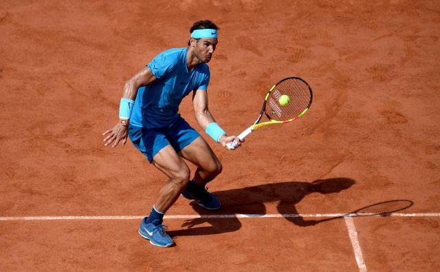 Rafael Nadal se je sprehodil skozi polfinale. Foto Christophe Simon/AFP
