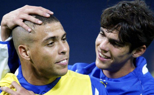 Kaka in Ronaldo FOTO: Paulo Whitaker/Reuters