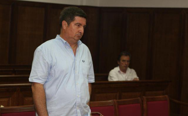 Robert Časar je dobil dve leti in tri mesece zaporne kazni. FOTO: Boris Šuligoj