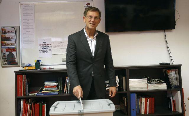 Dozdajšnji predsednik vlade Miro Cerar. FOTO:Blaž� Samec/Delo