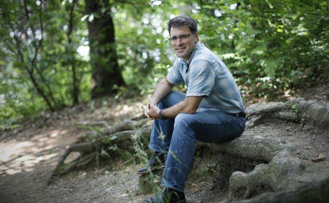Seth Wilson, član združenja Northern Rockies Conservation Cooperative, je tudi soavtor filma Risova pot. Foto Uroš Hočevar