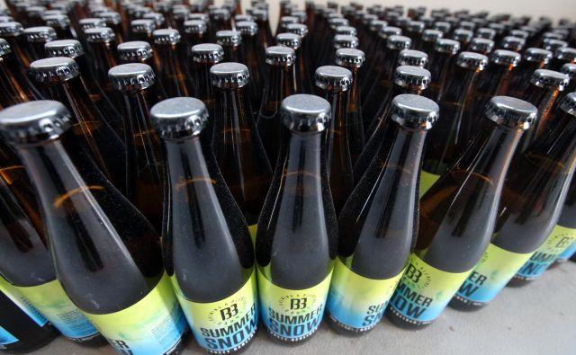 Največja posebnost pivovarne Barut Brewing And Blending je, da za svoja večinoma kisla piva uporabljajo kvas, ki ga delajo in množijo sami.FOTO: Mavric Pivk