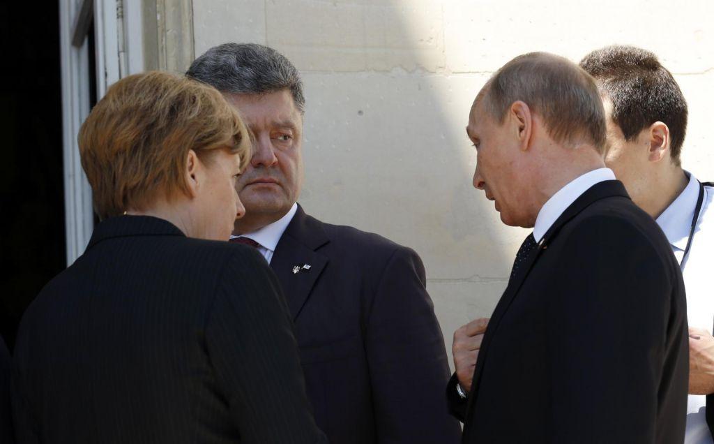 Putin in Porošenko o izmenjavi zapornikov