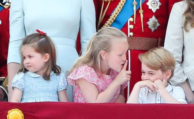 Bodi tiho, je Savannah Phillips sporočila Georgeu ... FOTO:AFP