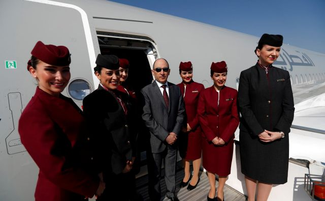 Prvak Qatar Airwaysa težko brzda jezik. Foto Reuters