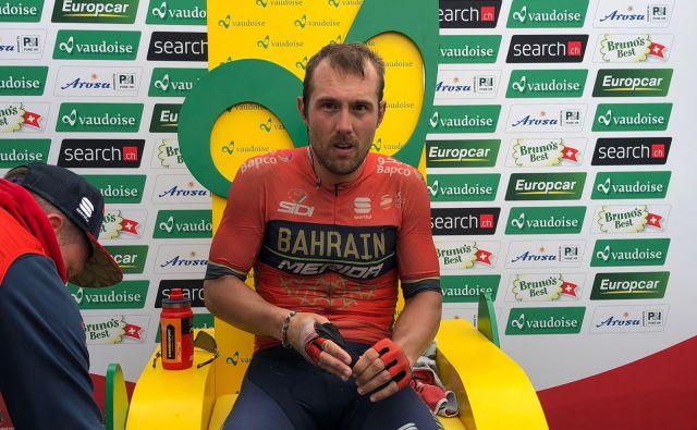 Sonny Colbrelli je dobil 3. etapo dirke po Švici.