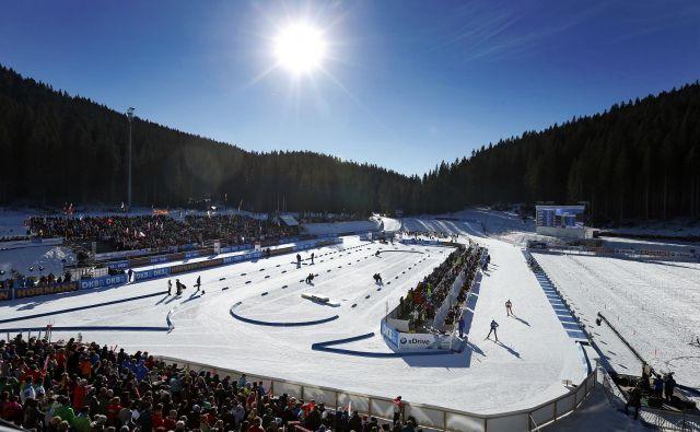 Pokljuški štadion je doslej enkrat, leta 2001, gostil svetovno prvenstvo v biatlonu.<br /> FOTO: Matej Družnik