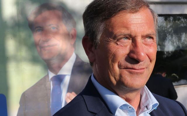 Odločitev, ali bo Karl Erjavec še naprej vodil stranko, naj bi bila negotova. FOTO: Tomi Lombar/Delo