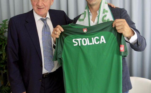 Milana Mandarić in Ilija Stolica.