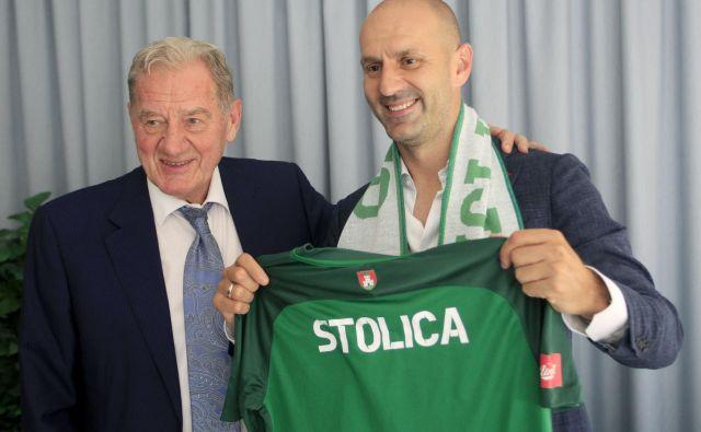 Milan Mandarić je povedal, da je bil Ilija Stolica najprimernejši kandidat za vrh Olimpijine piramide.