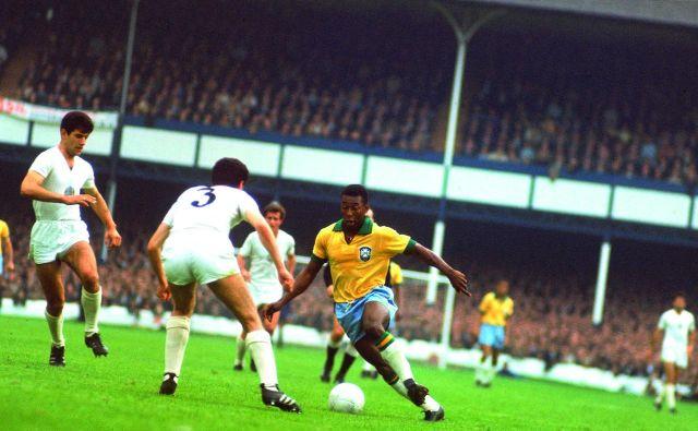 Legendarni Pele je z Brazilijo trikrat osvojil naslov svetovnega prvaka, in sicer v letih 1958, '62 in '70. FOTO: Sportskeeda