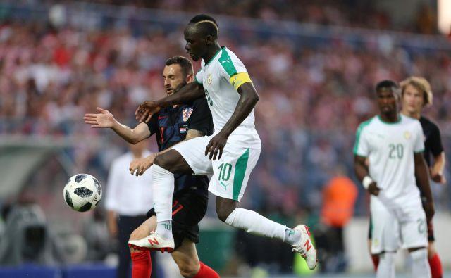 Za rezultat Senegala v Rusiji bodo odločilne predstave Sadia Maneja. Foto Reuters