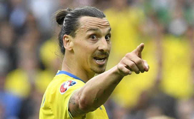 Čeprav ga v Rusiji ne bo, je Ibrahimović poskrbel, da se bo o njem govorilo tudi med mundialom. FOTO: AFP
