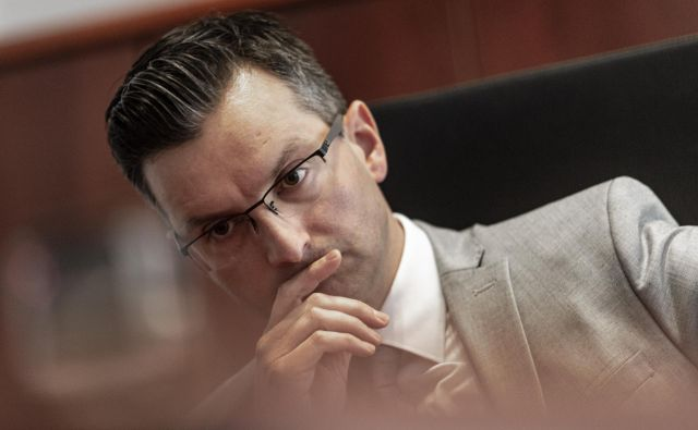 Predsednik LMŠ Marjan Šarec FOTO: Voranc Vogel/Delo