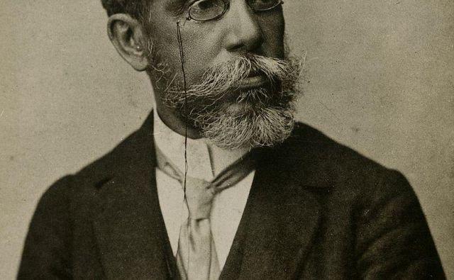 Joaquim Maria Machado de Assis je bil iz rasno mešane družine in je prvih petdeset let preživel v deželi, v kateri je še obstajalo suženjstvo. Foto Wikipedia