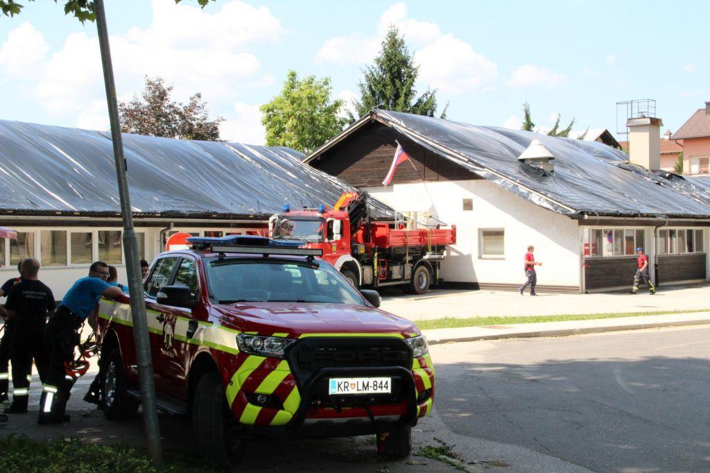 Ministrstvo pozvalo k prijavi škode, ki jo je povzročilo petkovo neurje