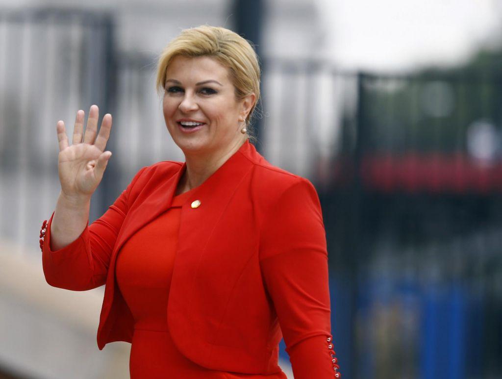 Grabar-Kitarovićeva: Tusk je nevtralen glede vprašanja arbitraže