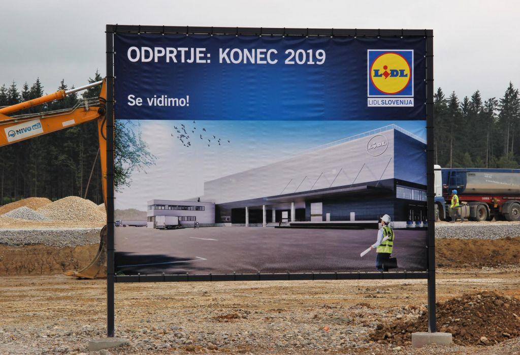 Lidlov logistični center za 70 milijonov evrov