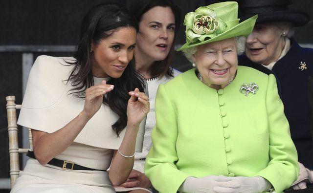 Meghan in krlajica se odlično razumeta. FOTO: Danny Lawson/AP