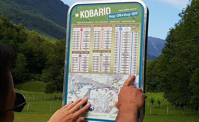 Kobariški »hop on hop off« uspešno povezuje odročnejše turistične znamenitosti in pohodniška izhodišča. FOTO: Občina Kobarid