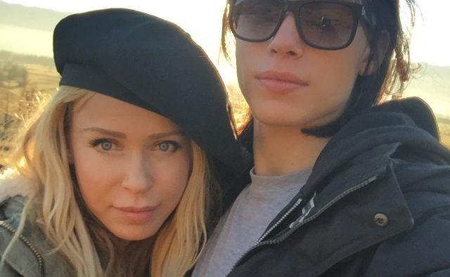 Marta Zore in sin Mihael Zore Juvan Foto Osebni Arhiv